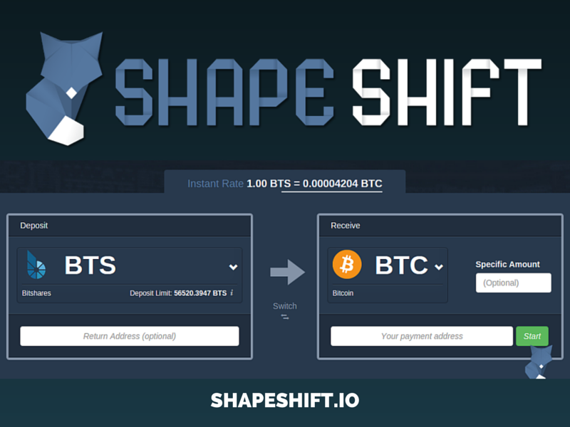 ShapeShift UI