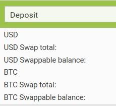 Deposit Summary