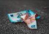 Euros on Floor